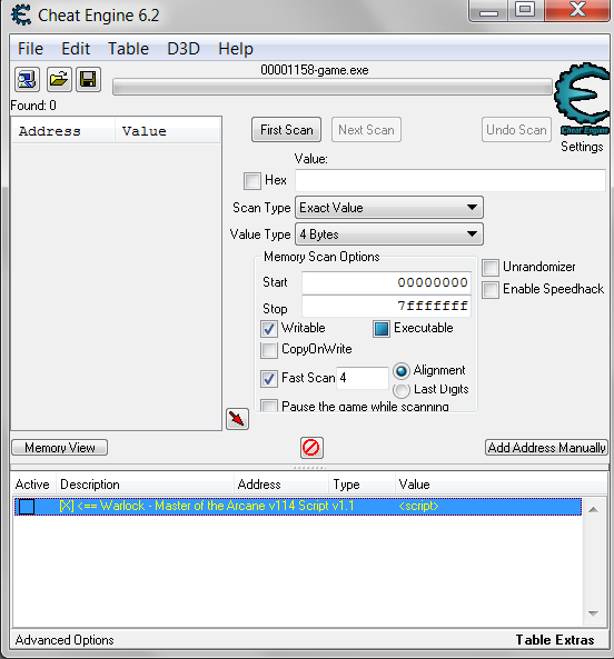 Cheat Engine :: View topic - [DiY]Dealing with Recifense's