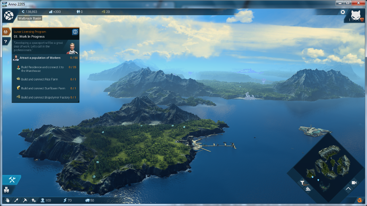 anno 2205 codex not working