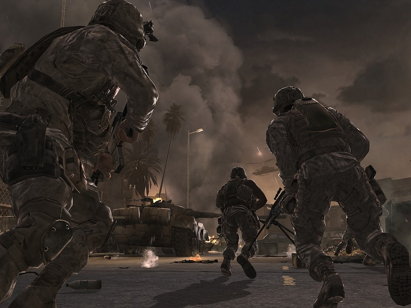 call of duty 2. Call-of-Duty-4-Modern-Warfare-