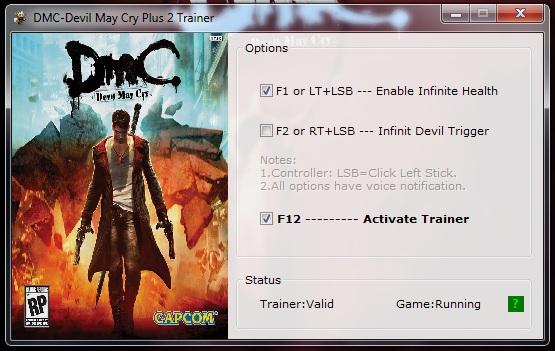 скачать трейнер для игры Dmc Devil May Cry - фото 6