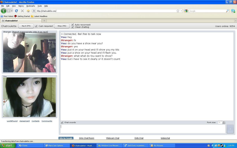 Free chatroulette webcam porn pics