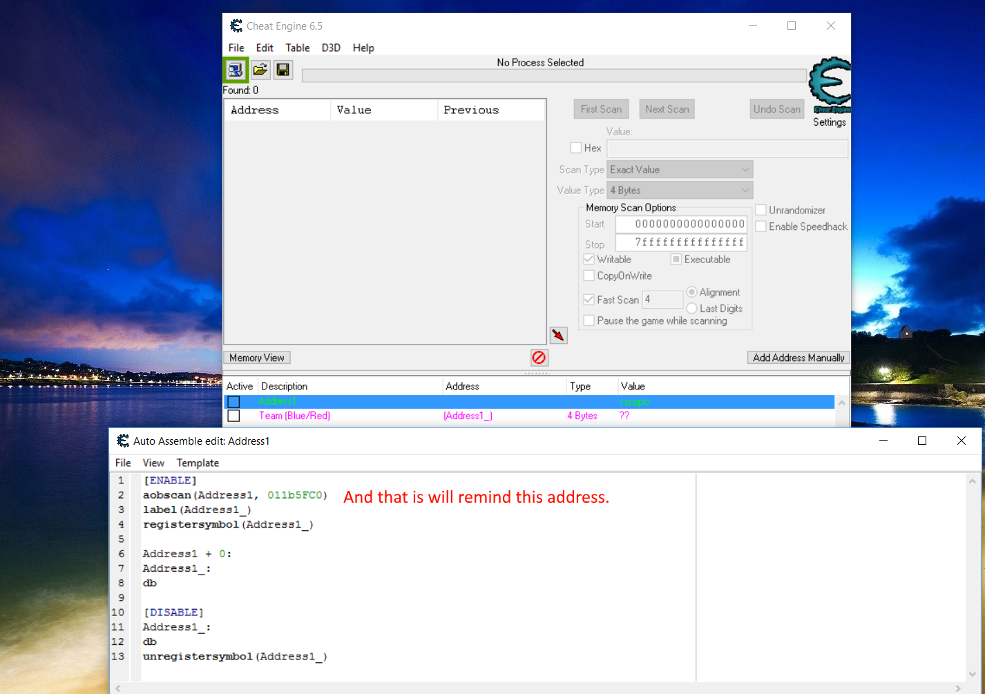 Cheat Engine - skaner pamici, hex editor i debugger - najlepsze 83